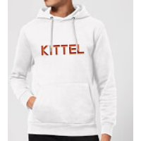 Summit Finish Kittel - Rider Name Hoodie - White - L - White