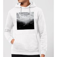 Summit Finish Col du Tourmalet Scenery Hoodie - White - XXL - White