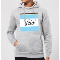 Summit Finish Velo Hoodie - Grey - XXL - Grey