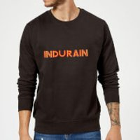 Summit Finish Indurain - Rider Name Sweatshirt - Black - XXL - Black