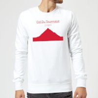 Summit Finish Col du Tourmalet Sweatshirt - White - XL - White