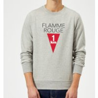 Summit Finish Flamme Rouge Sweatshirt - Grey - M - Grey