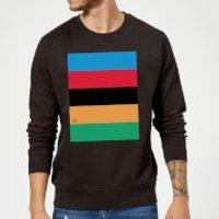 Summit Finish World Champion Stripes Sweatshirt - Black - L - Black