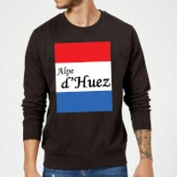 Summit Finish Alpe D'Huez Sweatshirt - Black - XL - Black