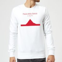 Summit Finish Passo Dello Stelvio Sweatshirt - White - XXL - White