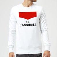 Summit Finish Le Cannibale Sweatshirt - White - XL - White