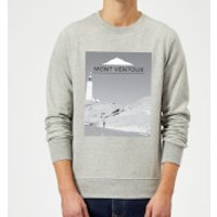 Summit Finish Mont Ventoux Scenery Sweatshirt - Grey - S - Grey