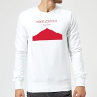 Summit Finish Mont Ventoux Sweatshirt - White - S - White