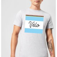 Summit Finish Velo Men's T-Shirt - Grey - S - Grey
