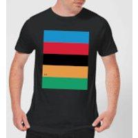 Summit Finish World Champion Stripes Men's T-Shirt - Black - M - Black