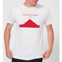 Summit Finish Col du Tourmalet Men's T-Shirt - White - XXL - White