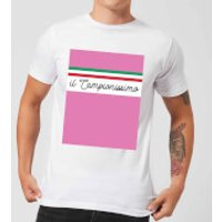 Summit Finish Il Campionissimo Men's T-Shirt - White - M - White