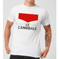 Summit Finish Le Cannibale Men's T-Shirt - White - S - White