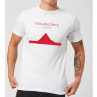 Summit Finish Passo Dello Stelvio Men's T-Shirt - White - M - White