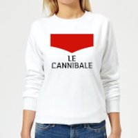 Summit Finish Le Cannibale Women's Sweatshirt - White - L - White