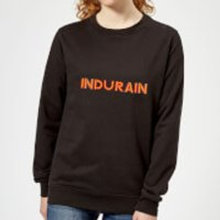 Summit Finish Indurain - Rider Name Women's Sweatshirt - Black - XL - Black