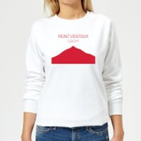 Summit Finish Mont Ventoux Women's Sweatshirt - White - XL - White
