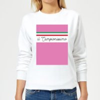 Summit Finish Il Campionissimo Women's Sweatshirt - White - L - White
