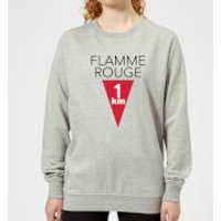 Summit Finish Flamme Rouge Women's Sweatshirt - Grey - XXL - Grey