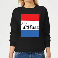 Summit Finish Alpe D'Huez Women's Sweatshirt - Black - 3XL - Black