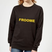 Summit Finish Froome - Rider Name Women's Sweatshirt - Black - L - Black