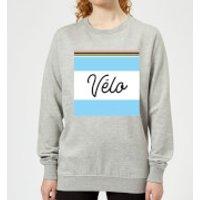 Summit Finish Velo Women's Sweatshirt - Grey - M - Grey