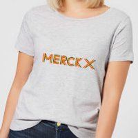 Summit Finish Merckx - Rider Name Women's T-Shirt - Grey - L - Grey
