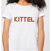 Summit Finish Kittel - Rider Name Women's T-Shirt - White - L - White