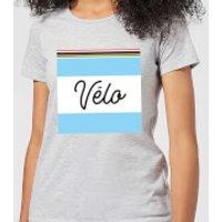 Summit Finish Velo Women's T-Shirt - Grey - XXL - Grey