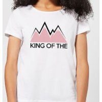 Summit Finish King Of The Mountains Women's T-Shirt - White - XXL - White