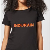Summit Finish Indurain - Rider Name Women's T-Shirt - Black - M - Black