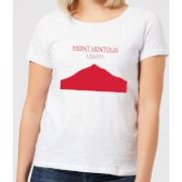 Summit Finish Mont Ventoux Women's T-Shirt - White - XS - White