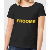 Summit Finish Froome - Rider Name Women's T-Shirt - Black - S - Black