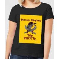 Summit Finish Pantani The Pirate Women's T-Shirt - Black - M - Black