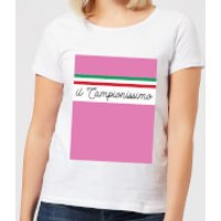 Summit Finish Il Campionissimo Women's T-Shirt - White - M - White