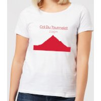 Summit Finish Col du Tourmalet Women's T-Shirt - White - XXL - White