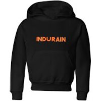 Summit Finish Indurain - Rider Name Kids' Hoodie - Black - 11-12 Years - Black