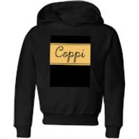 Summit Finish Fausto Coppi Kids' Hoodie - Black - 5-6 Years - Black