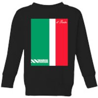Summit Finish Pantani Il Pirata Kids' Sweatshirt - Black - 9-10 Years - Black