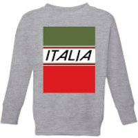 Summit Finish Italia Kids' Sweatshirt - Grey - 11-12 Years - Grey