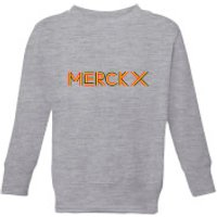 Summit Finish Merckx - Rider Name Kids' Sweatshirt - Grey - 9-10 Years - Grey