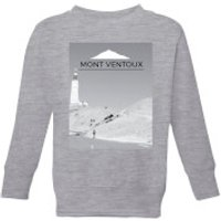 Summit Finish Mont Ventoux Scenery Kids' Sweatshirt - Grey - 3-4 Years - Grey