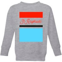 Summit Finish St Raphael Kids' Sweatshirt - Grey - 3-4 Years - Grey