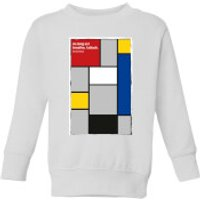 Summit Finish La Vie Claire Kids' Sweatshirt - White - 11-12 Years - White