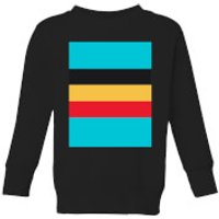 Summit Finish Belgium Flag Kids' Sweatshirt - Black - 7-8 Years - Black