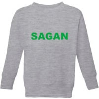 Summit Finish Sagan Bold Kids' Sweatshirt - Grey - 5-6 Years - Grey