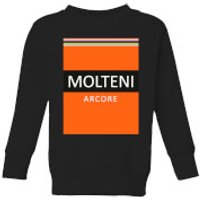Summit Finish Molteni Kids' Sweatshirt - Black - 5-6 Years - Black