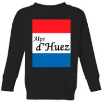 Summit Finish Alpe D'Huez Kids' Sweatshirt - Black - 11-12 Years - Black