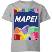 Summit Finish Mapei Kids' T-Shirt - Grey - 7-8 Years - Grey