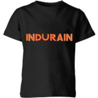 Summit Finish Indurain - Rider Name Kids' T-Shirt - Black - 9-10 Years - Black